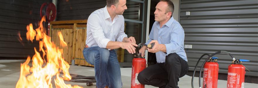 entreprise services sécurité incendie
